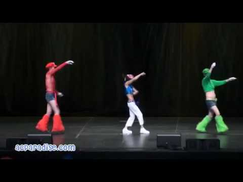 Anime Expo 2010 - Video of Entry 12, cosplay skit of Super Yaoi Brothers Super Mario Bros performed at Anime Expo 2010 Masquerade. Filming credits to http://www.acparadise.com...