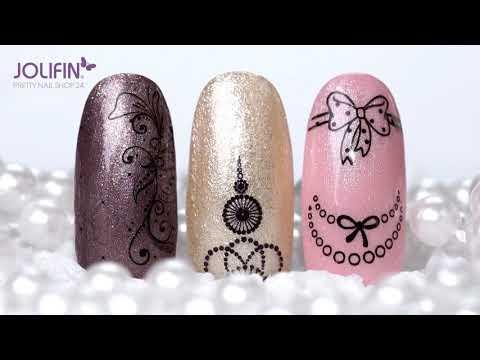 Nageldesign - Jolifin Metallic Tattoos & Tattoo Wraps