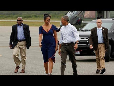 ΗΠΑ: Οι διακοπές των Ομπάμα στο Μάρθας Βίνγιαρντ