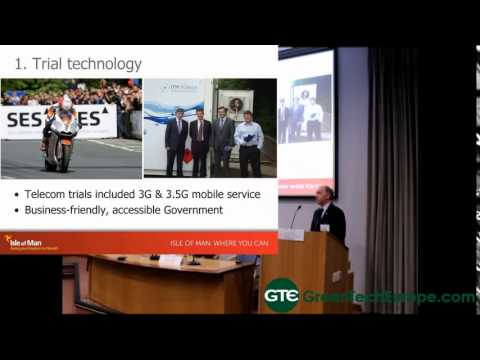 Cleantech on the Isle of Man Presentation