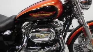 10. 2005 Harley Davidson XL1200C Sportster 1200 Custom– used motorcycles  for sale– Eden Prairie, MN