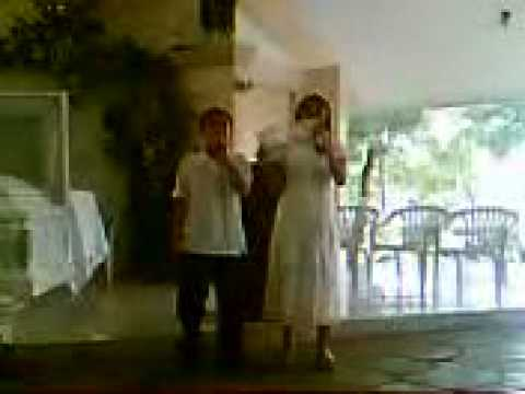 kienplockZ - Chennie May Franco And Kien Lester Gelasan Singing My Life is In Your Hands.