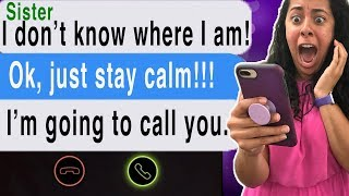 Video Texting My DEAD Sister!!! *She Called ME* (Cliffhangers | Scary Text Message Story | Station) MP3, 3GP, MP4, WEBM, AVI, FLV Juli 2018
