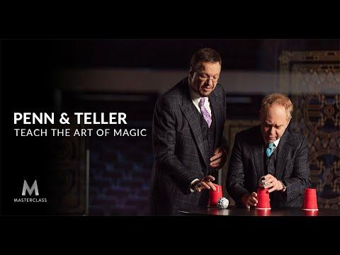Penn & Teller Teach the Art of Magic   Official Trailer   MasterClass