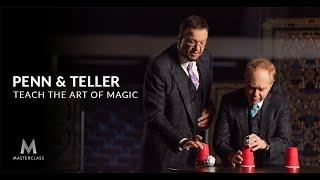 Penn & Teller Teach the Art of Magic | Official Trailer | MasterClass