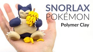 "Please watch: ""Lugia (Pokemon) – Polymer Clay Tutorial"" https://www.youtube.com/watch?v=15hHtHiKSuc-~-~~-~~~-~~-~-Hey guys and welcome to this polymer clay tutorial of the Pokemon Snorlax!! Some years ago I have seen a Pokemon episode where a Snorlax was causing some trouble as it was eating all the Bananas from a guy called Marcel… :DI am looking forward to read your comments about this clay creation, send me some photos if you decided to create this Snorlax step by step.-----------------------------------------------------------LINKS:my CLAY ▸ http://amzn.to/2vHCqNrGreninja ▸ https://youtu.be/_vmqF6YZAec-----------------------------------------------------------More ways to follow ClayClaim:Instagram ▸ https://www.instagram.com/clayclaim/Snapchat  ▸ https://www.snapchat.com/add/clayclaimFacebook ▸ https://www.facebook.com/clayclaimTwitter ▸ https://twitter.com/ClayClaimEtsy ▸ coming soon!!"