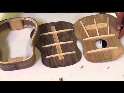 How to Make a Ukulele (Fast-forward)