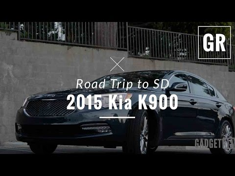 2015 Kia K900 First Drive and Review