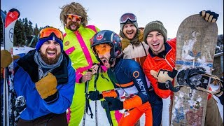 Video Skiing Stereotypes | Dude Perfect MP3, 3GP, MP4, WEBM, AVI, FLV Desember 2018