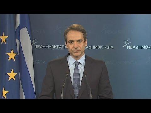 Κ. Μητσοτάκης: Τεράστιες οι ευθύνες της κυβέρνησης για το σημερινό αδιέξοδο