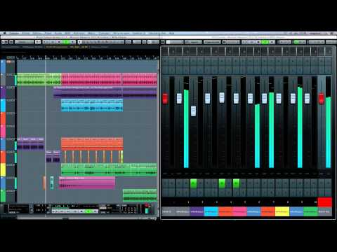 Museum Megamix 2012 Cubase 7 New Features New Mix Console Steinberg