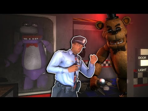 Garrys Mod - FIVE NIGHT'S AT FREDDY'S ESCAPE! - Garry's Mod Multiplayer Gameplay - FNAF Gmod Game Mode