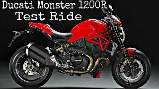 4. Ducati Monster 1200R | Test Ride