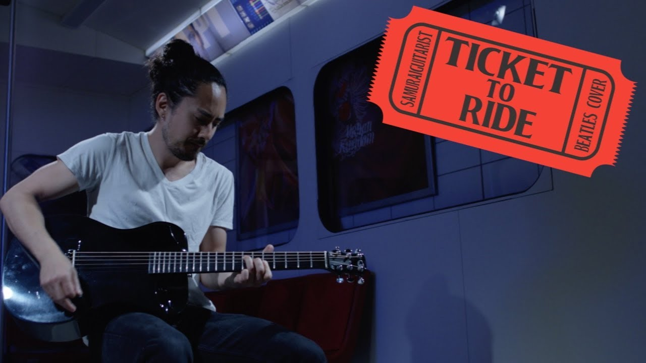 """Ticket To Ride"" – Beatles Cover (Solo Acoustic Guitar)"