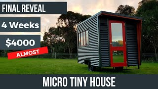 Video Micro Tiny House: Final reveal of the tiny house I tried to build for under $4000 in 4 weeks MP3, 3GP, MP4, WEBM, AVI, FLV September 2019