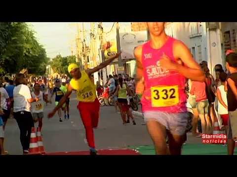 Vereador Ségio Parabeniza o Prefeitol Na Maratona de emancipação em nova Floresta Pb 2004