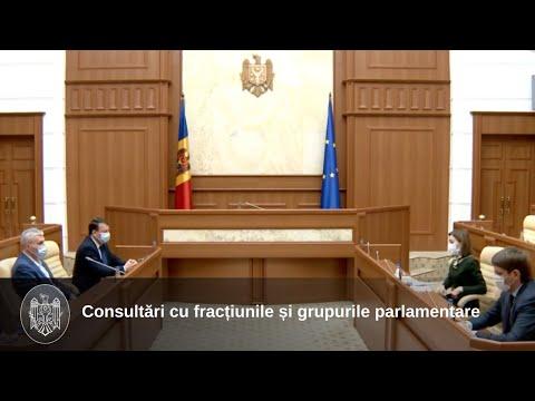 Президент Майя Санду предложила сегодня кандидатуру Игоря Гросу на должность Премьер-министра