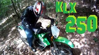 6. Riding with a 2007 klx 250