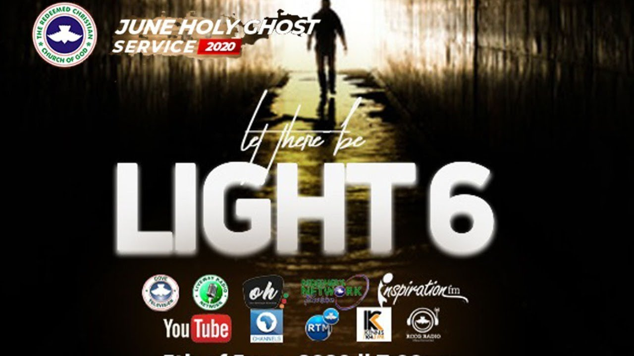 RCCG June 2020 Holy Ghost Service - Let There Be Light 6