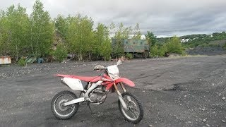 6. Free Riding on the 2004 Honda CRF250X