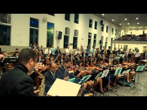 Grandioso es tu - Orquestra Sinfonia Celeste - Acreuna Go