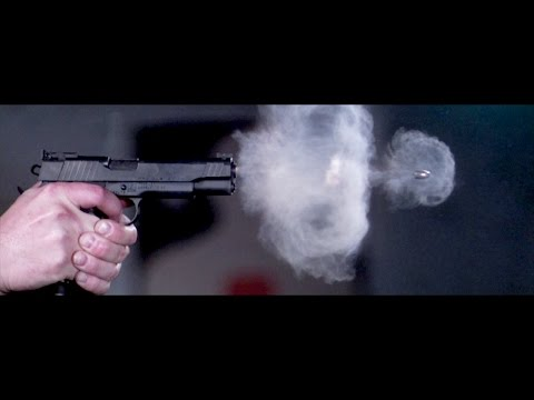 An Incredible Super Slow Motion Video of Pistol