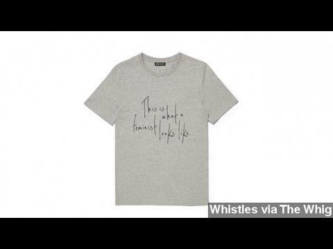 Feminist T-Shirt Caught Up In Sweatshop Controversy