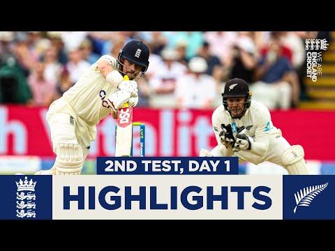 England v New Zealand - Day 1 Highlights | Fans Return to Edgbaston! | 2nd LV= Insurance Test 2021