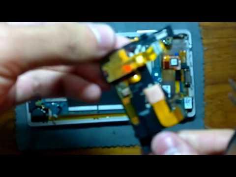 Xperia ZL Disassemble (видео)