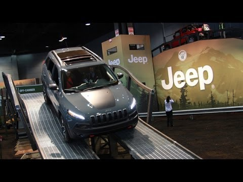 Camp Jeep Cherokee Trailhawk Ride Along with Jim Morrison