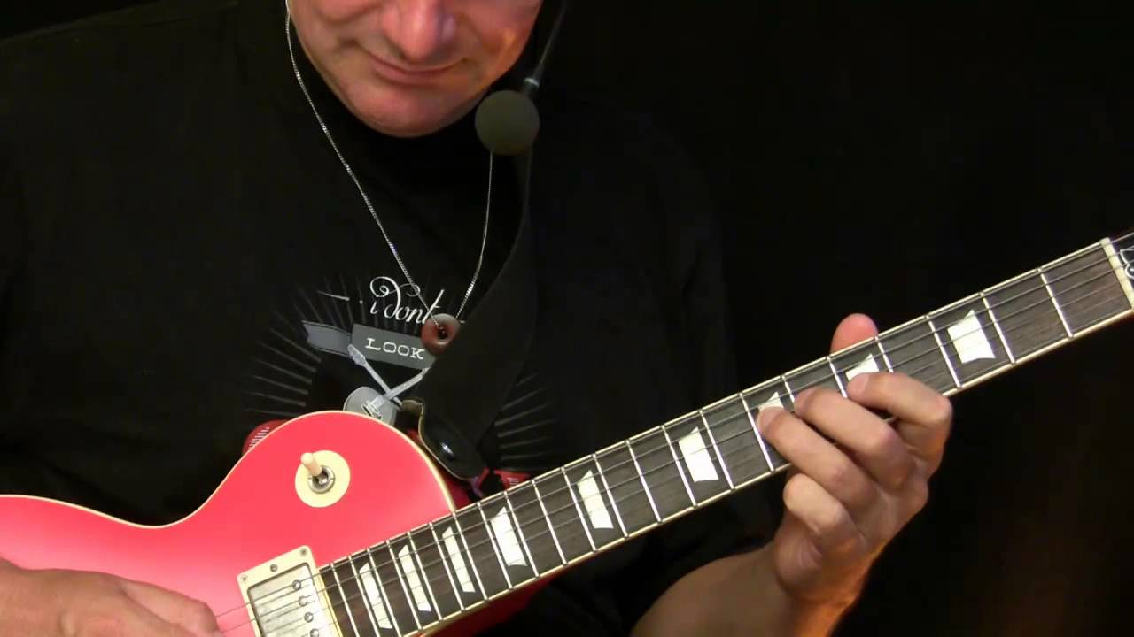 Guitar Lesson – Basic Blues Improvisation ( Beginners )