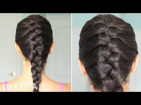 plait - Here's a tutorial of a Basic/Classic French Braid. If you master this style, you can pretty much learn & master any other, more intricate styles as well, whe...