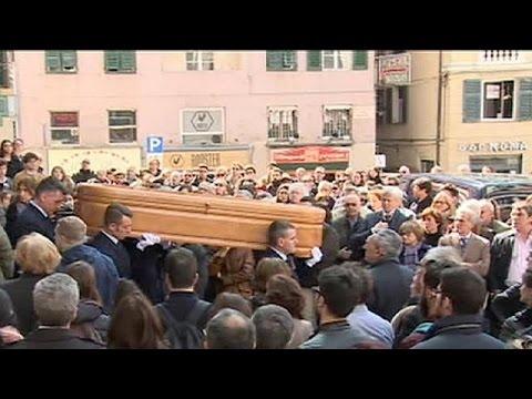 Ιταλία: Κηδεύτηκε στη Γένοβα μια από τις φοιτήτριες που σκοτώθηκε την Κυριακή στην Ισπανία