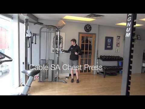 Off-Ice Hockey Training – Chest Exercises