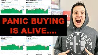 Panic Buying The Stock Market Is Going On Right Now