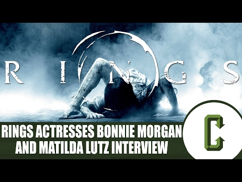 Rings Cast Interview – Bonnie Morgan and Matilda Lutz