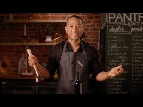 John Legend Tests Wine Opening Hacks