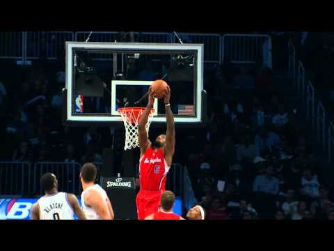 Off - It's a big man to big man alley-oop for Lob City. Visit nba.com/video for more highlights. About the NBA: The NBA is the premier professional basketball leag...