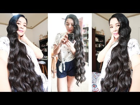 Curly hairstyles - No Heat Curls-Boba Straws Curls- Heatless Christmas Party Hairstyle-Beautyklove