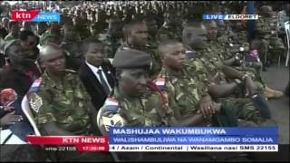 Chief of Defence Forces General Mwathethe's Speech in Honor of Kenyan Soldiers killed in Somalia