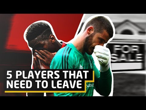 Five Fan Favourites That Need To Leave Manchester United | Man Utd Transfer News