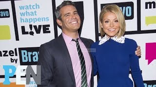Kelly Ripa's pal Andy Cohen, host of