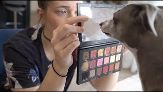 My Dogs Pick My Makeup