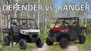 9. Polaris Ranger vs Can Am Defender