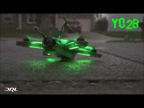 Мастерское управление дроном. Видео полёта от первого лица