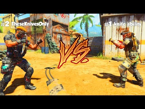 1v1 Vs The #1 Black Ops 4 Knifer In The World!!