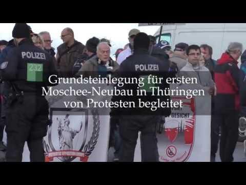 Erfurt: Grundsteinlegung für Moschee-Neubau in Erfurt ...