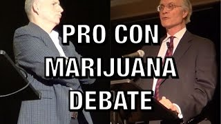 PRO-CON MARIJUANA DEBATE | Ethan Nadelmann & David Evans | California Cannabis Business Expo by Coral Reefer