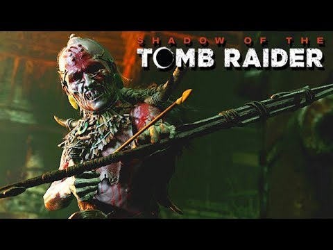 Shadow Of The Tomb Raider Gameplay German - Wilde Kannibalen