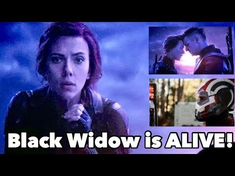 How Black Widow Is Still Alive -  Avengers Endgame